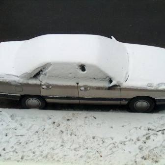 خرابی اتومبیل در زمستان
